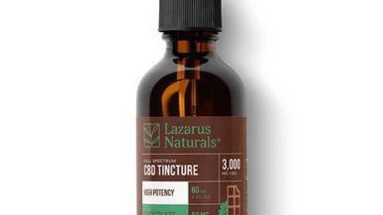 Lazarus Naturals - CBD Tincture - Full Spectrum Chocolate Mint - 3000mg-6000mg