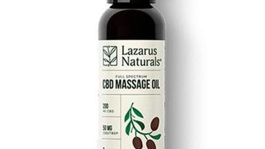 Lazarus Naturals - CBD Topical - Massage Oil 200mg-1600mg