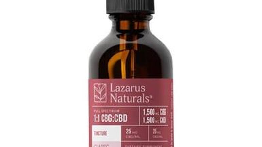 Lazarus Naturals-CBD Tincture - High Potency Full Spectrum CBG:CBD Oil