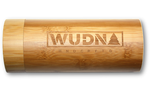 Natural Bamboo Cylinder for WUDN Sunglasses