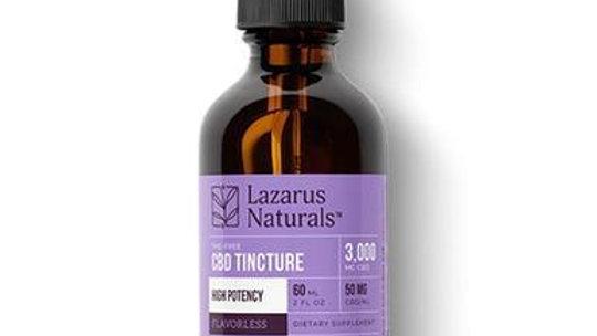 Lazarus Naturals - CBD Tincture - Isolate Flavorless - 3000mg