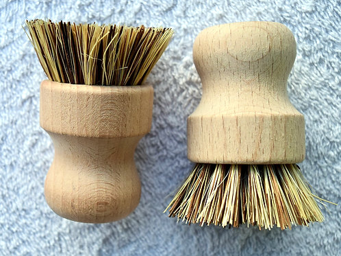 Biodegradable Bamboo Sisal Brush