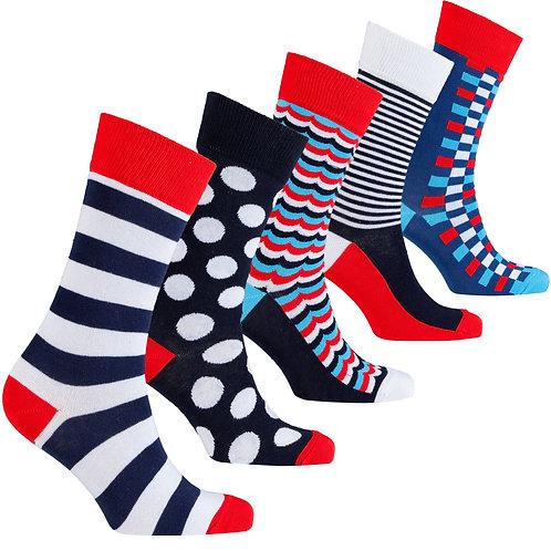 Men's High Class Mix Set Socks