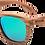 Thumbnail: Real Zebra All Wood Jacks Sunglasses by WUDN