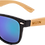 Thumbnail: Real Bamboo Wood Wanderer Style Sunglasses by WUDN