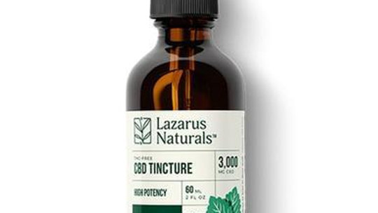 Lazarus Naturals - CBD Tincture - Isolate Wintermint - 3000mg