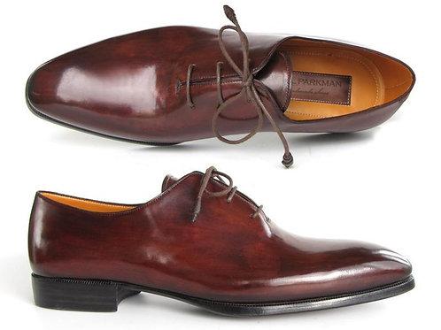 Paul Parkman Men's Oxford Dress Shoes Brown&Bordeaux (ID#22T55)