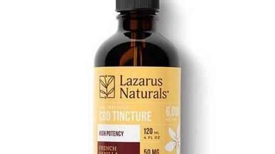Lazarus Naturals - Tincture - Full Spectrum French Vanilla Mocha - 1500mg-6000mg