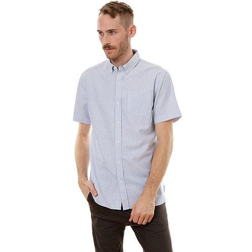 Larry Blue Vertical Striped Shirt