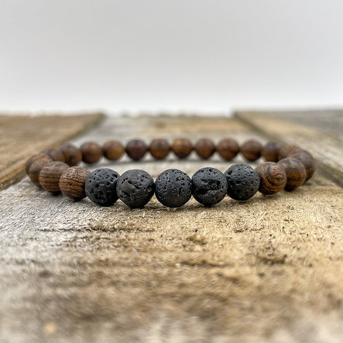 Grove | Lava Rock & Dark Sandalwood