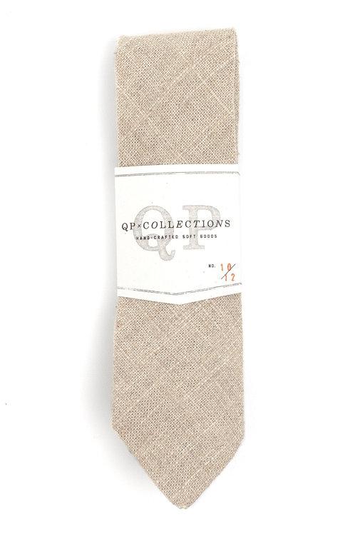 Soft Burlap Neck tie