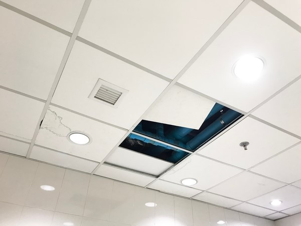 Bright Ceiling - A bright new ceiling for 80% less