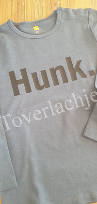 T-shirt met tekst