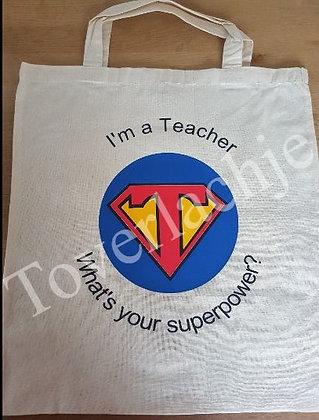 Totebag 'Teacher'