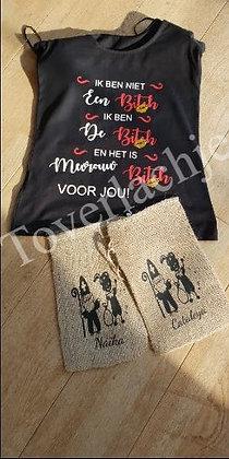 T-shirt & jutte zakken