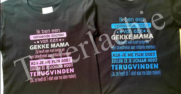 T-shirts met tekst