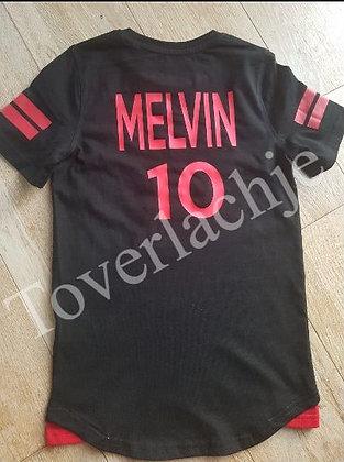 Voetbal shirt met naam