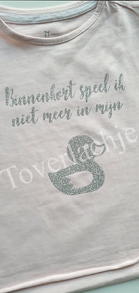 T-shirt 'grote zus'
