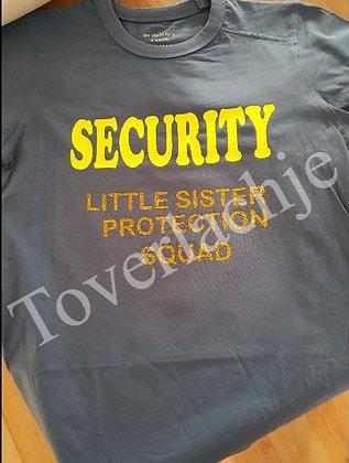 T-shirt 'Security'