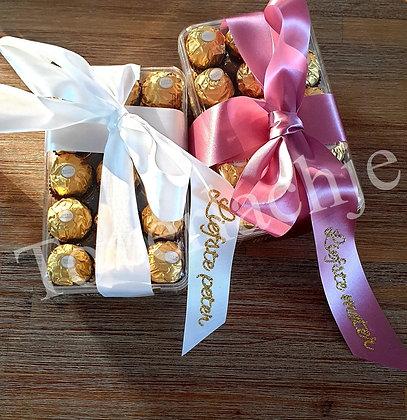 Ferrero Rocher bedankje