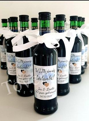 Wijnfles 'Wijnzinnig'