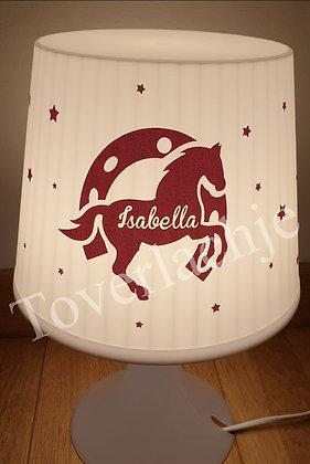 Lamp paard