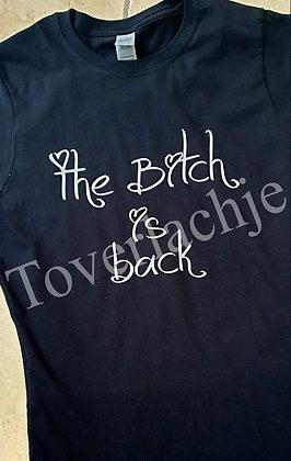 T-shirt 'bitch'