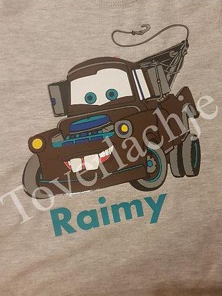 T-shirt Cars met naam