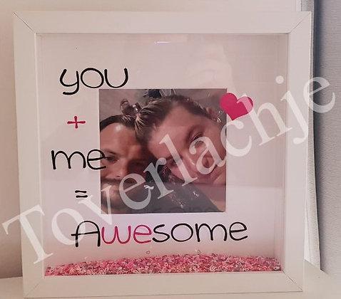 3D kader valentijn