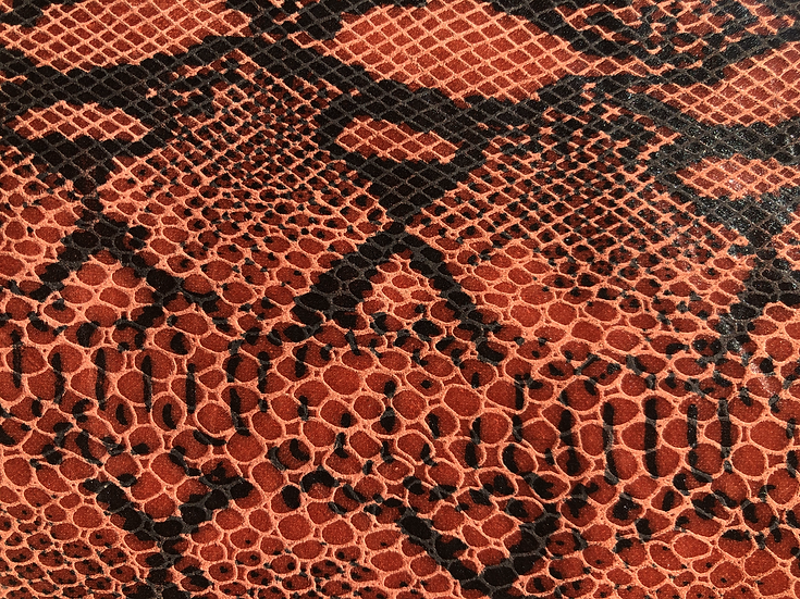Snake Pig Print