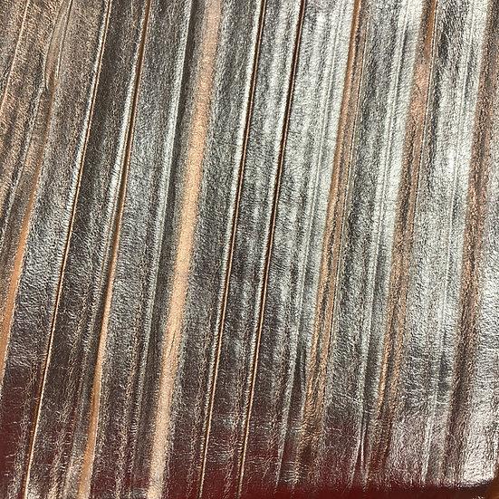 Pleated Metallic Lamb