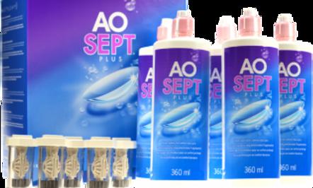 Pack Aosept Plus 3X360ML