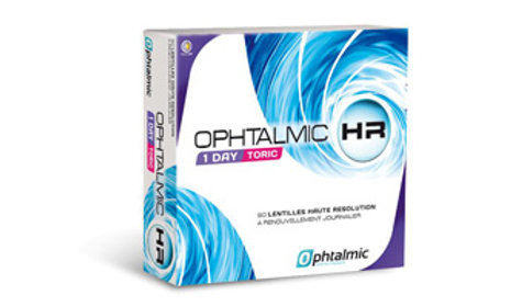 Ophtalmic HR 1 Day Toric 90L