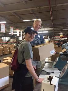 Community Service in Action: FoodBank of NJ
