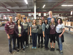 Community Service in Action: Community FoodBank of NJ