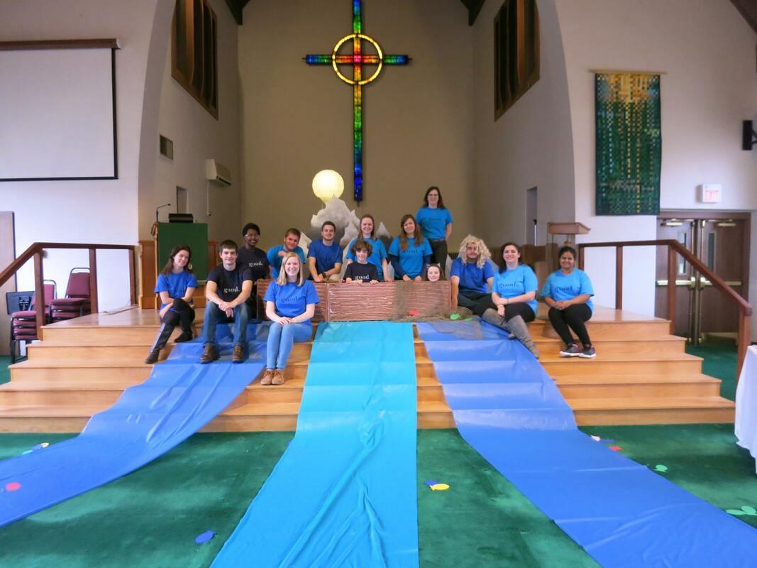 Student Worship at First Presbyterian Church