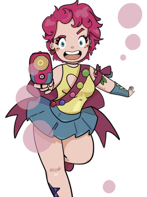 Bubblegum Girl- A5 Print
