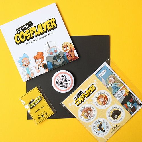 Being A Cosplayer- Gift Set