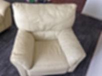 Чистка кожаной мебели на дому. krcleaning.ru