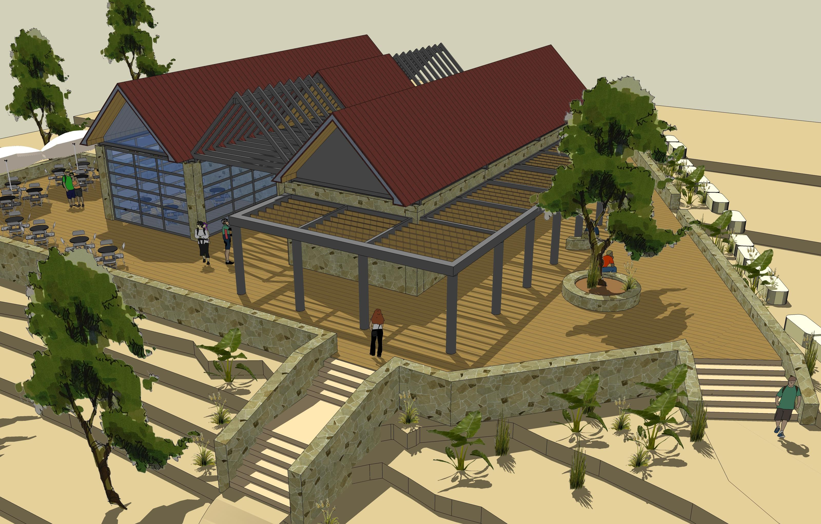 Visitor Center - Sataf Forrest