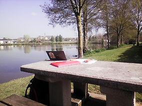 22. bureau à l'étang de St Georges sur L