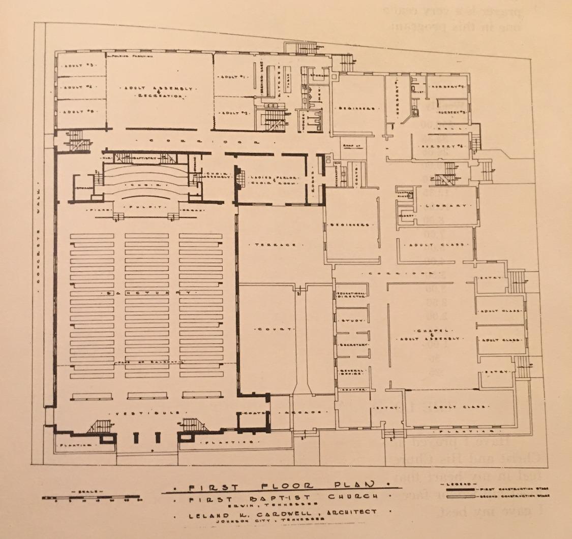 FBC 1957 Floorplan