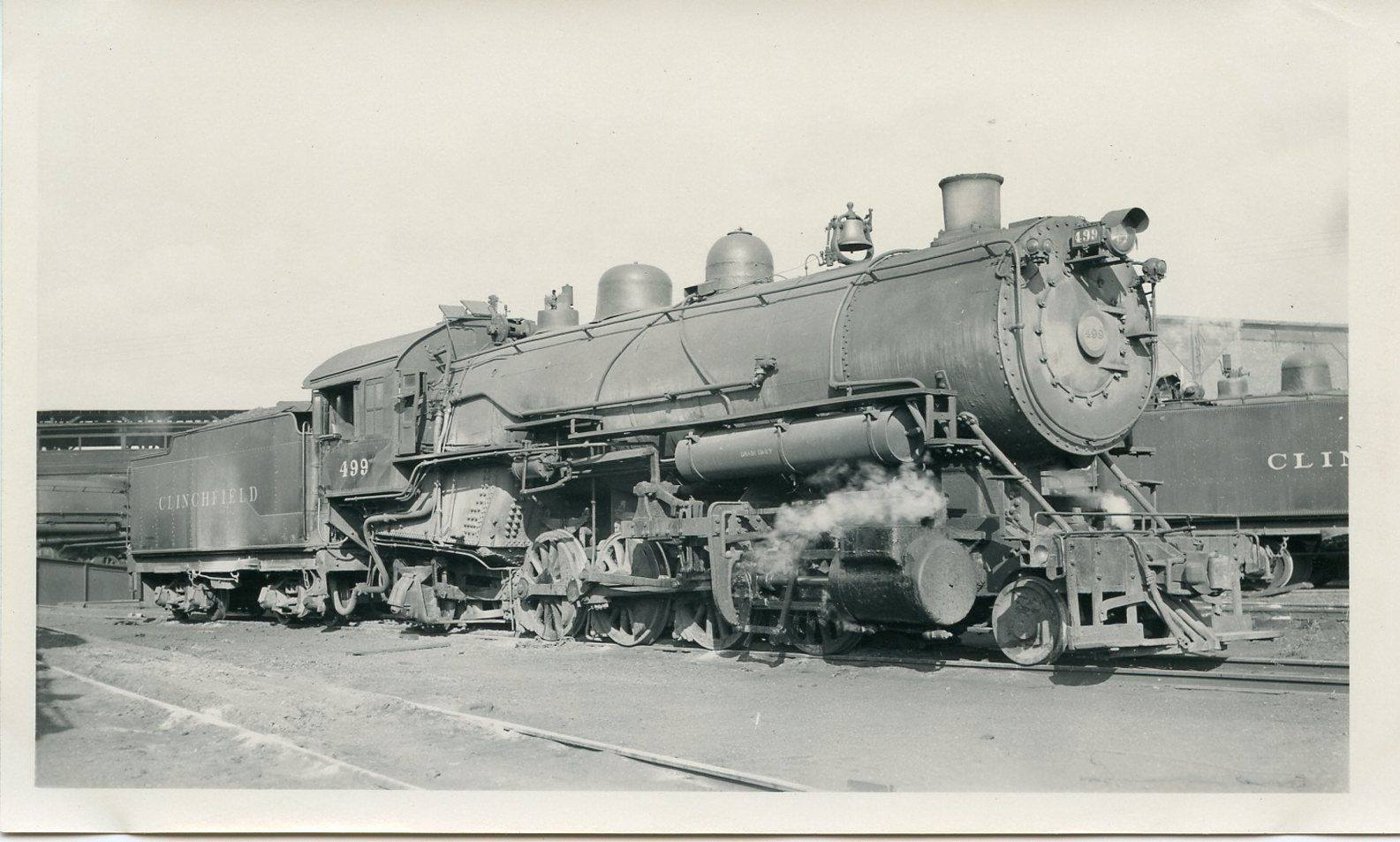 Clinchfield Railroad Engine