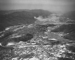 Aerial view of Erwin