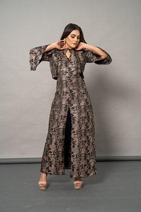 Phoebe black copper set
