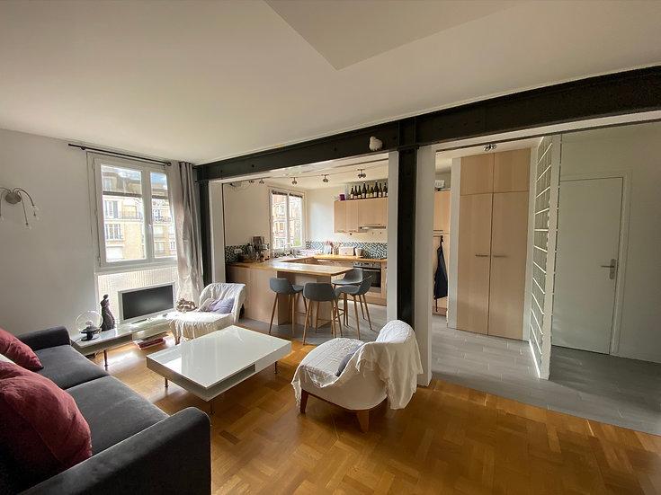 Appartement 69 m² - Paris 17ème