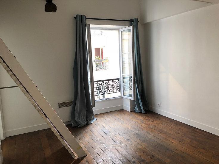 Studio 30 m² - Paris 18ème
