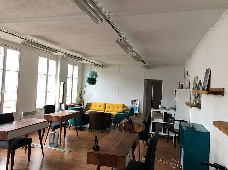 Bureau 84 m² - Paris 11ème