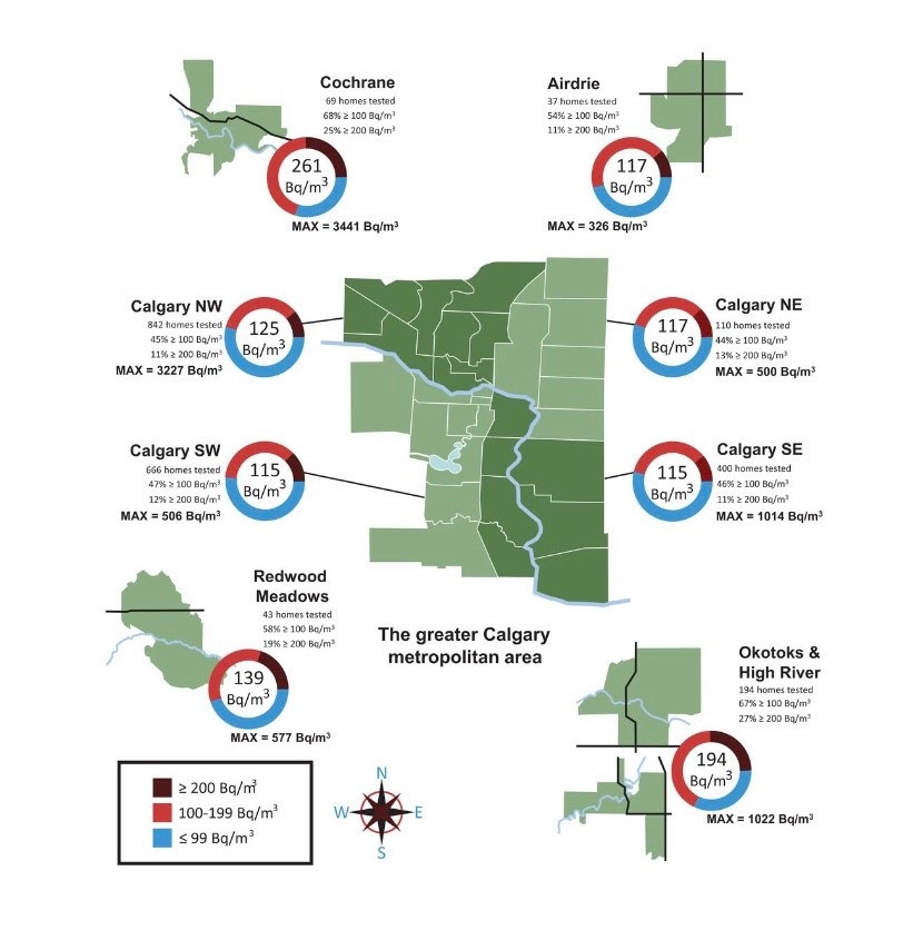 Calgary Radon Levels Radon Mitigation