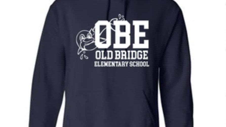 Navy Hoodie - OBE Design